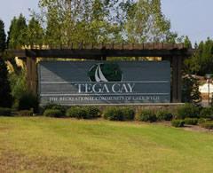 Tega Cay Entry Sign