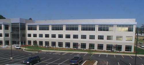 Daimler Trucks New Office Building Fort Mill