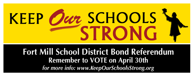 Keep Our Fort Mill Schools Strong banner