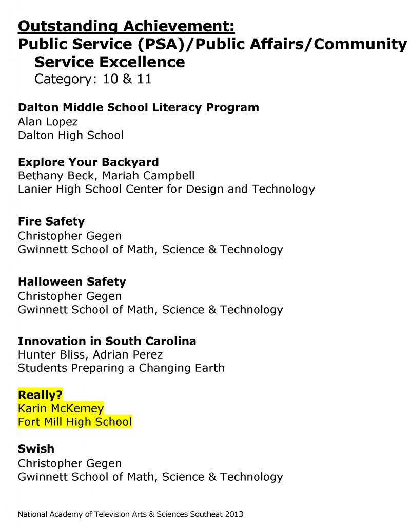 HS_StudentProduction_NomineesWinners_20131