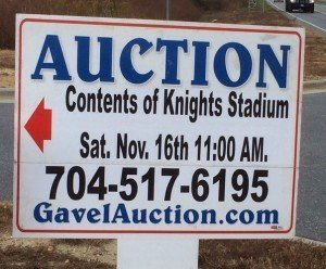 Knights Stadium Contents Auction