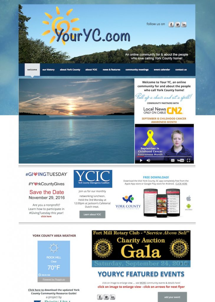 YourYC website - York County Events