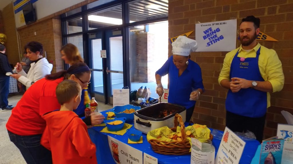 Fort Mill Middle School at the chili cook off