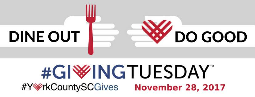 Giving Tuesday Nov 28 York County SC