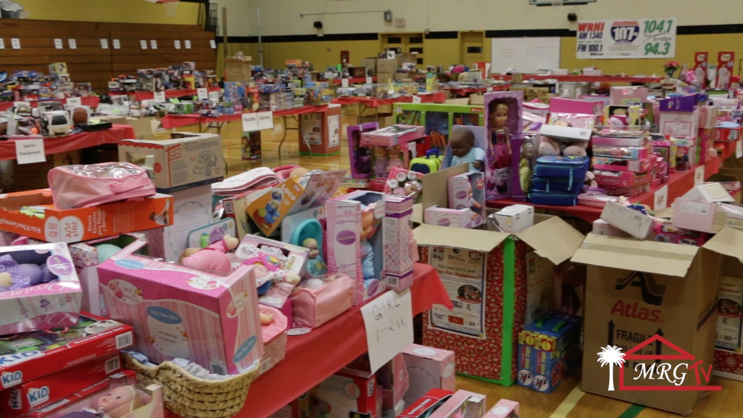 WRHI Toys For Happiness Warehouse