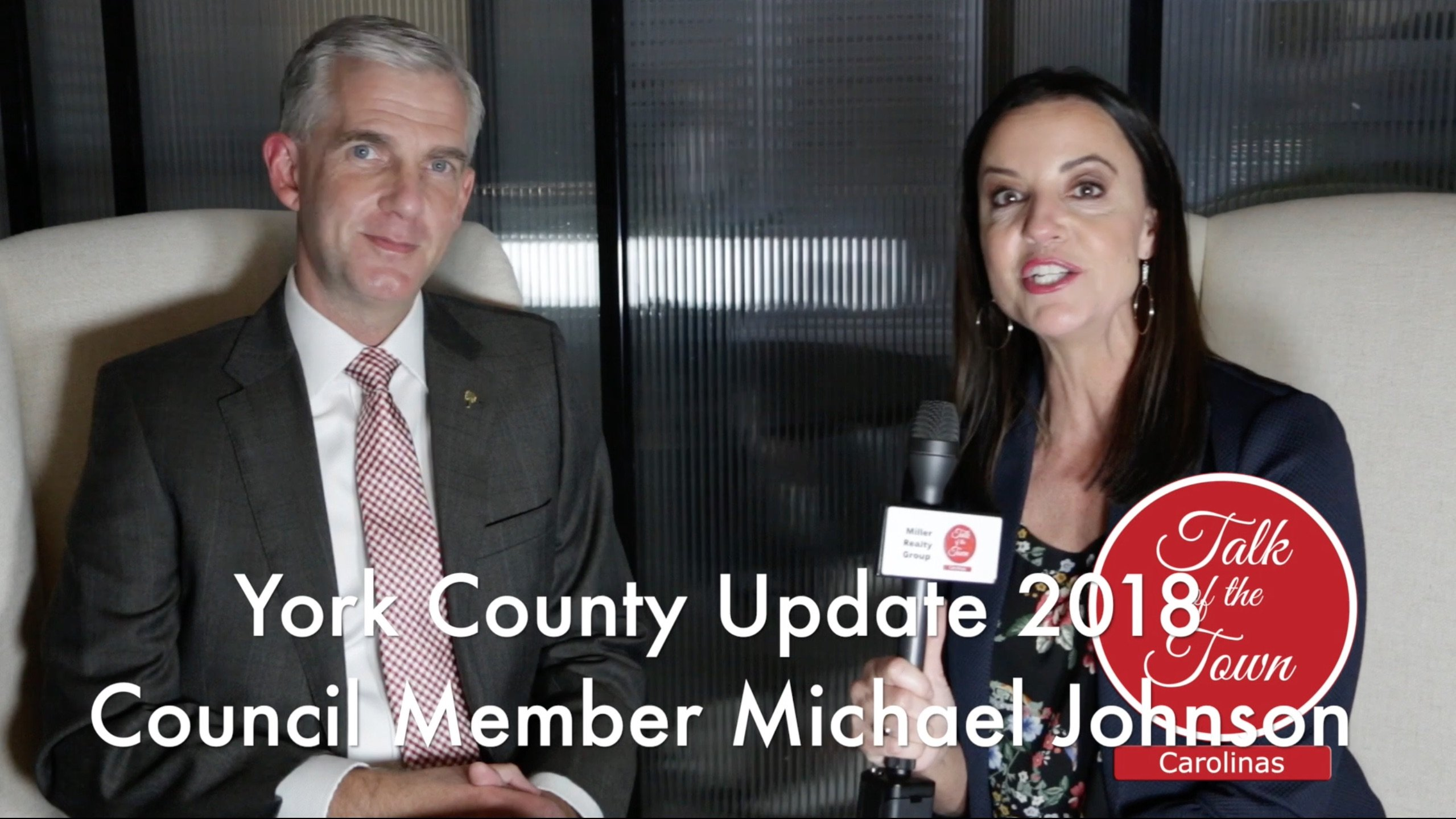 Michael Johnson 2018 Update Talk of the Town