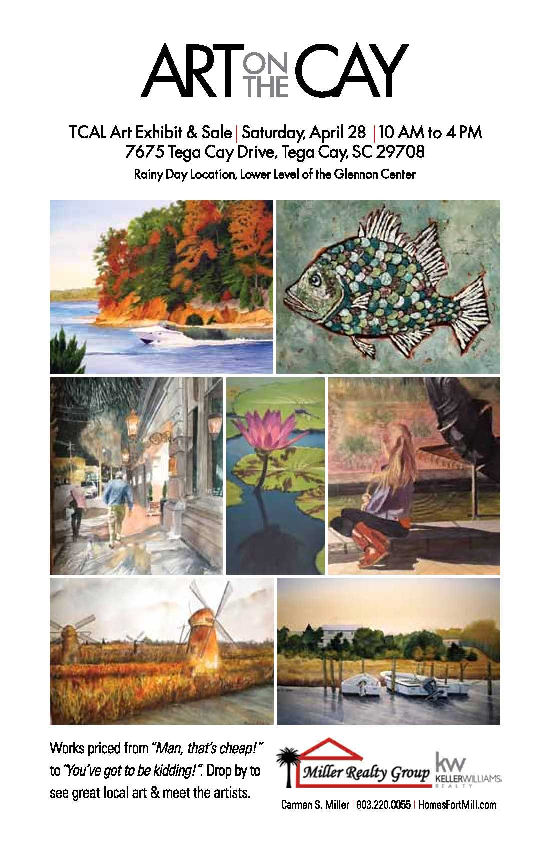 Art on the Cay Tega Cay Art League's Art Show and Sale