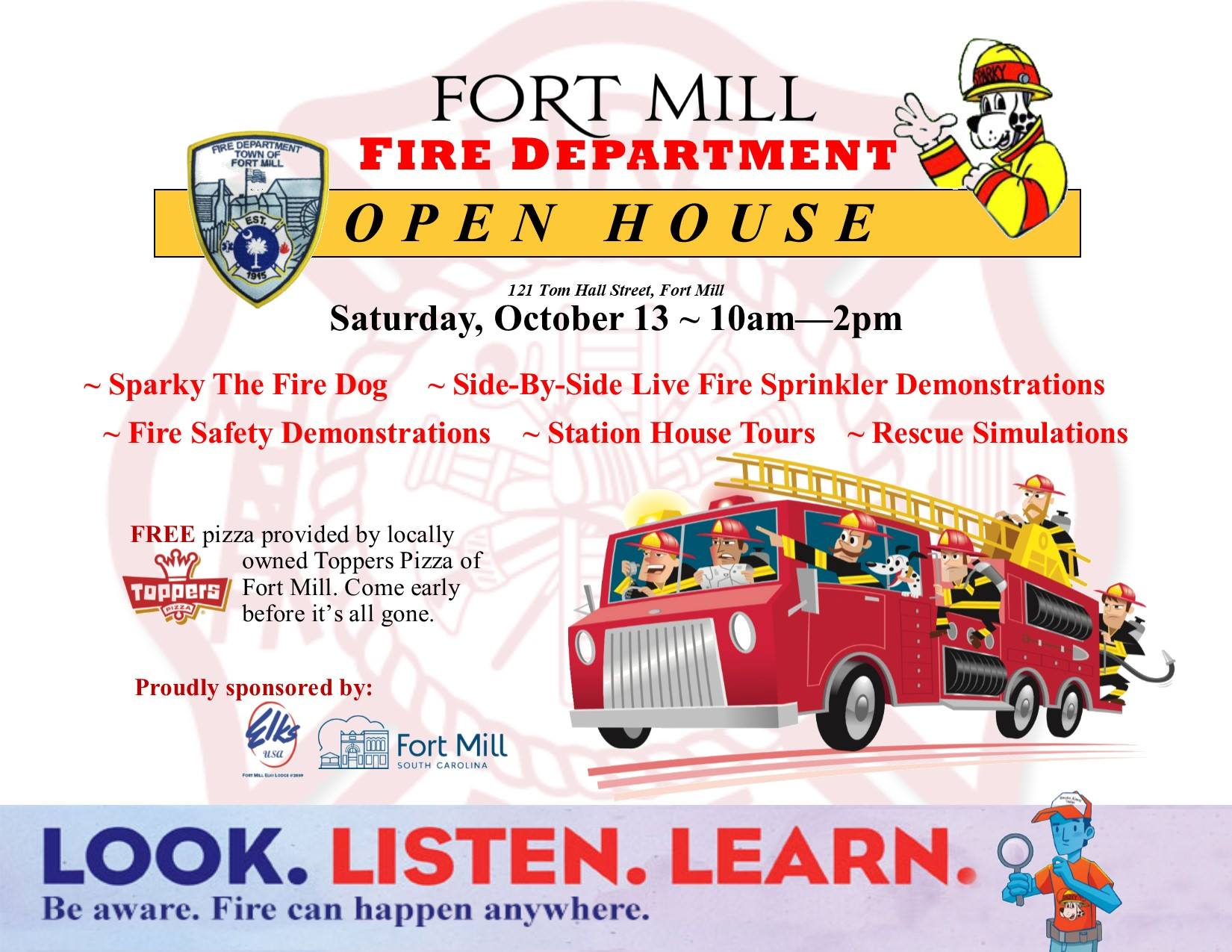 Fort Mill Fire Dept Open House 2018